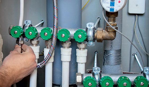 Коллектор водопроводный своими руками